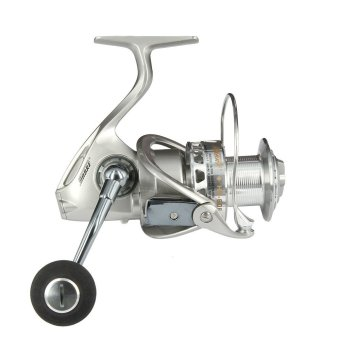 Surf Casting Reel HB-6000 Stainless Steel Main Shaft AL Body and Roter Fishing Reel with 10+1 Ball Bearings for Saltwater (Intl)