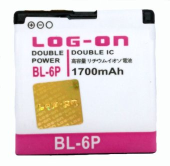 Log On Battery BL-6P For Nokia 6500 terpercaya
