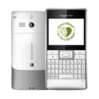 Sony Ericsson Aspen M1i - 100 MB - Putih Silver