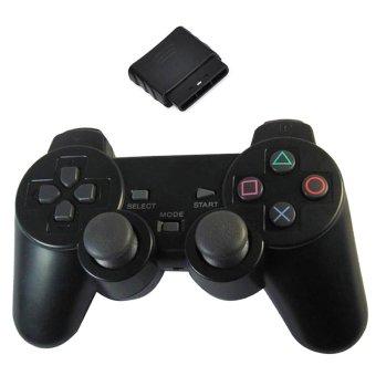Sony Playstation 2 Wireless Controller - Hitam