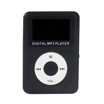 32GB USB Digital MP3 Player LCD Screen (Black)