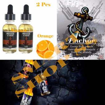 Smart Premium E-Liquid Rokok Elektrik 2pcs(Orange)