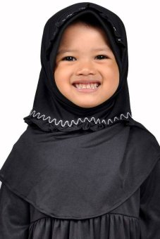 harga Saqina Kerudung Anak Shina KRA046 - Hitam Lazada.co.id