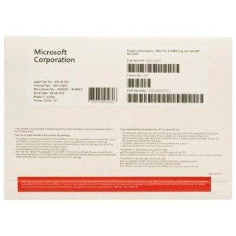 Microsoft Windows 8 Professional 64 Bit OEM
