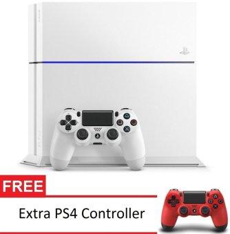 Sony PS4 Playstation 4 CUH-1200A B02 - Putih + Gratis Extra Controller