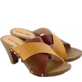 Everflow Victoria Heels - Coklat