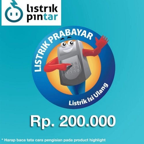 harga PLN Pulsa Token Listrik PLN 200.000 Lazada.co.id