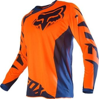 harga Fox Racing 2016 180 Jersey - Race (Orange/Blue) Lazada.co.id
