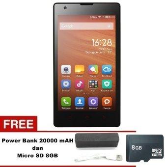 Xiaomi Redmi 1s - 8GB - Abu-Abu + Free MMC 8GB - Powerbank 20000mAh