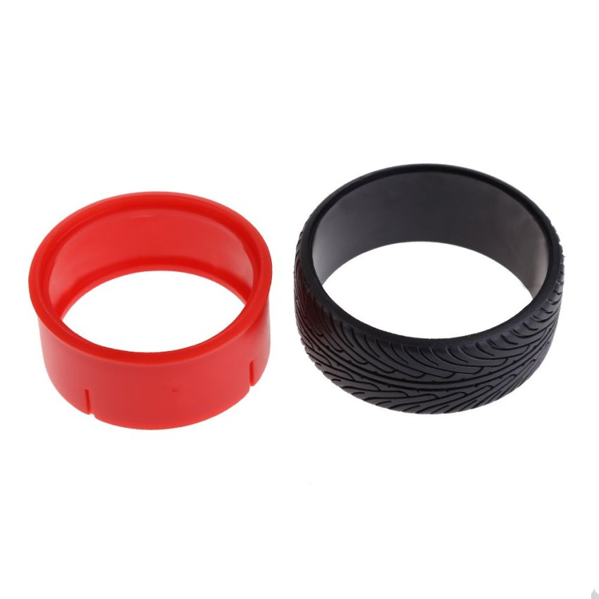 harga 4 Pcs RC Racing Speed Drift Tire Hard Tyre for HSP HPI 1:10 On-Road Car 5008 (Red) Lazada.co.id