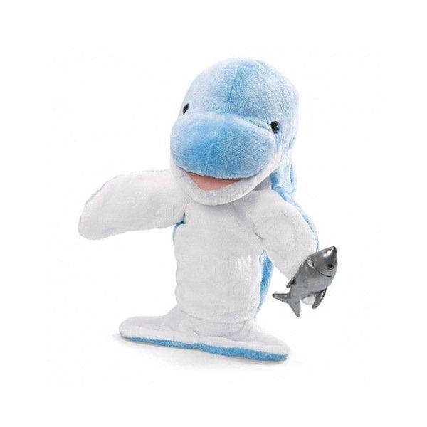 harga GUND Boneka tangan Hand Puppets Dolphin - Mainan Anak Lazada.co.id