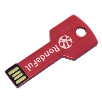 New Rondaful Red USB Flash Drive Metal Key USB Stick 32GB Pen Drive Thumb Storage Memory U Disk - Intl