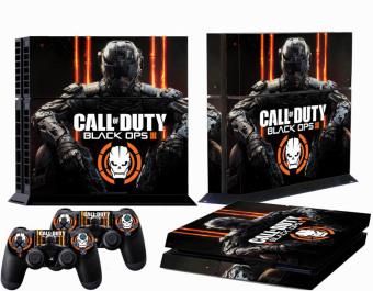 Black Duty Custom Sticker for PS4 PlayStation 4 Console Controller Skin (Intl)