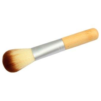 S & F Powder Bamboo Blusher Cosmetic Brush - Intl
