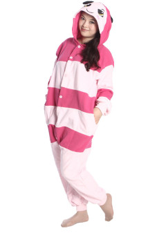 Ufosuit Bee Adult Animal Kigurumi Onesie Pink (Intl)