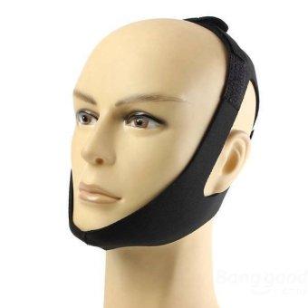 Anti Snoring Chin Strap Snore Stopper Sleep Belt Brace Device - Intl