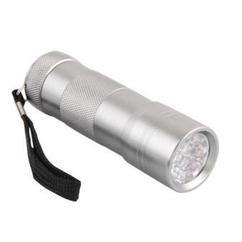 UV Ultra Violet Blacklight 12 LED Flash Light Torch AAA (Intl)