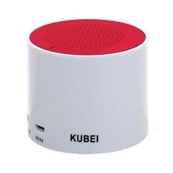 Super Bass Mini Portable Bluetooth Handfree Wireless Speaker Red