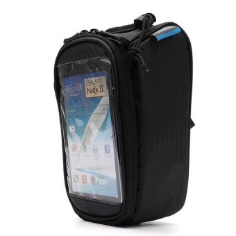 Bicycle Bike Frame Pannier Front Tube Bag Accessories Mobile Phone Pouch