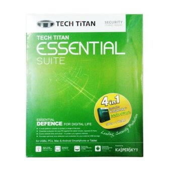 Kaspersky Tech Titan Essential Suite 2016 Anti Virus 3 User
