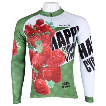 PALADINSPORT Men Cycling Long Jersey 174 (Intl)