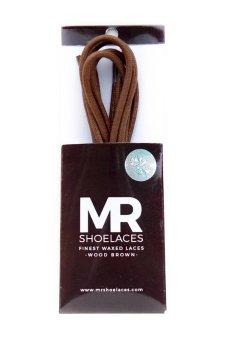 Mr. Sholeaces - Tali Sepatu Lilin Bulat 3-4mm - Coklat Kayu