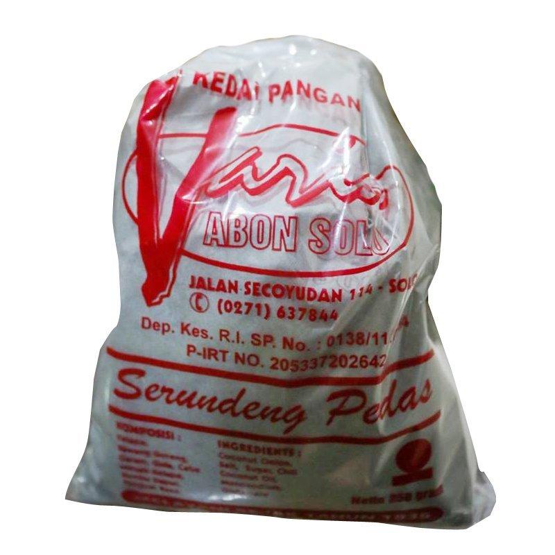harga Lakoka Abon Varia Serundeng Pedas Lazada.co.id