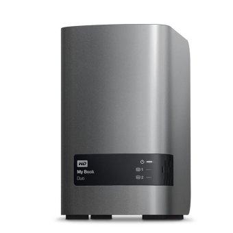 Western Digital Mybook Duo 6TB USB 3.0 - Black