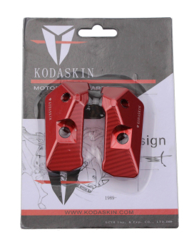 harga KODASKIN Left & Right Swingarm Swing Arm Spool Slider Adapters Mounts For Yamaha YZF R3 R25 2013 2014 2015 2016 red Lazada.co.id