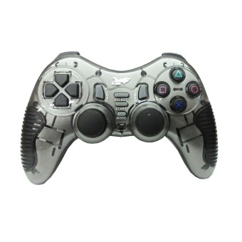 K-One Gamepad Wireless Turbo 2.4G 5in1 Extream High Quality - Abu Abu