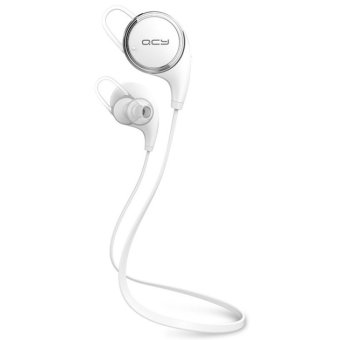 QCY QY8 Wireless Sports Bluetooth 4.1 Headset (White)