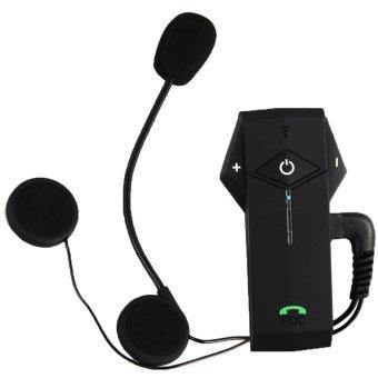 niceEshop Bluetooth Motorcycle Motorbike Helmet Interphone Intercom Headset(1000M,UK Plug) (Intl)