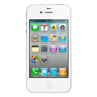 Refurbished Apple iPhone 4G 16GB - Putih - Grade A