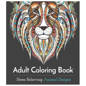 Adult Coloring Book: Stress Relieving Animal Designs (Intl)