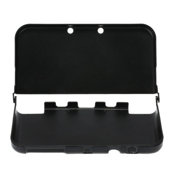 One Piece Aluminum Cover Case Shell Protector Black for Nintendo New 3DS XL LL (Intl)