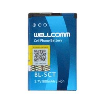 Wellcomm Battery Nokia BL-5CT 900 mAh - Biru terpercaya