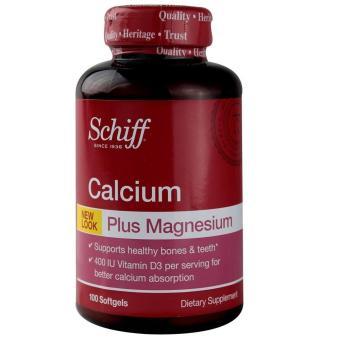 Schiff Calcium Plus Magnesium - 100 Softgels