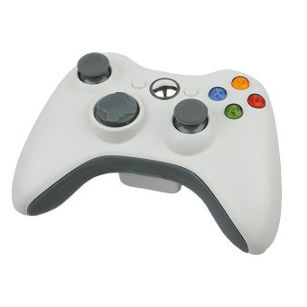 Wireless Game Controller Gamepad for Official Microsoft Xbox 360 (White) (Intl)