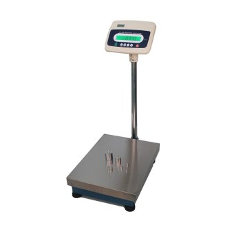 Electronic label scale barcode scale electronic cashier scale (Grey) - Intl