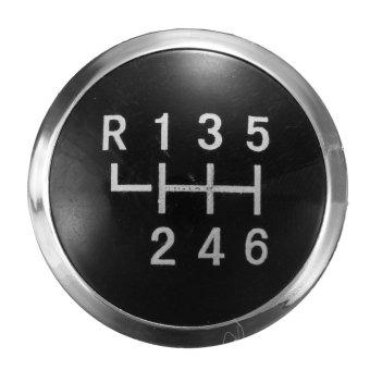 6 Speed Gear Knob Badge Emblem Cover Insert Cap For VW T5 T5.1 GP Transporter- Intl
