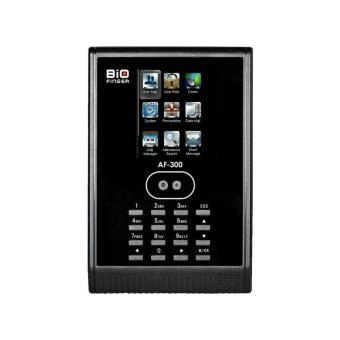 Biofinger AF-300 - Mesin Absensi Wajah - Kapasitas 200 Wajah - LCD Touch Screen - Hitam