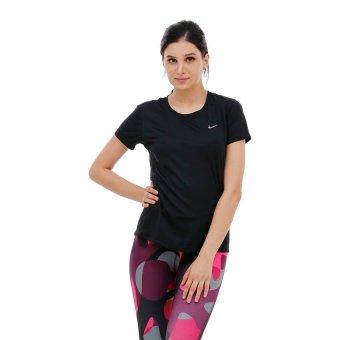 Nike MilerShortSleeve - Hitam