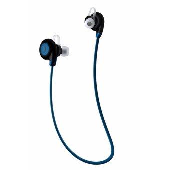 Sport Bluetooth Earphone with Microphone - BT- 108 - Biru