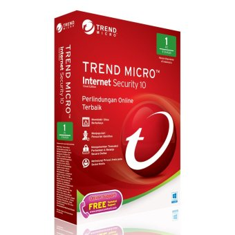 Trend Micro Software AV Internet Security 10 - 1 PC