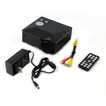Mini LED Projector for USB SD VGA HDMI AV Multimedia with Remote Control