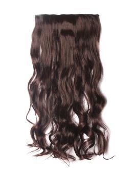 50cmx23cm piece wig hair - Dark Brown (Intl)