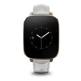 Allwin Zeblaze Crystal Smart Watch Bluetooth 4.0 1.54 inch IPS Screen IP65 NEW Gold (Intl)