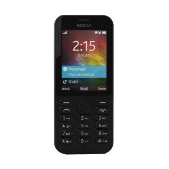 Nokia 215 Dual SIM - 8 MB - Hitam