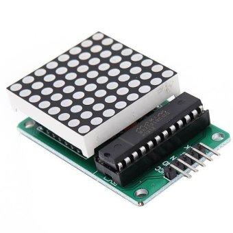 16x8 LED Dot Matrix With MAX7219 Module Arduino