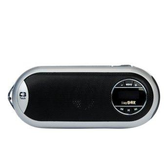 C3 Tech Street Lite Box Portable Speaker - Silver